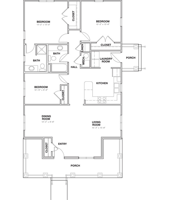 C Enlarged Floor Plan Image